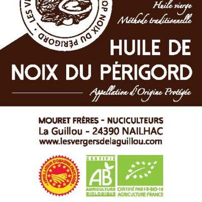 Huile De Noix Du Périgord AOP BIO 1L